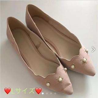 ジーユー(GU)の✨ パンプス ✨  Lサイズ(ローファー/革靴)