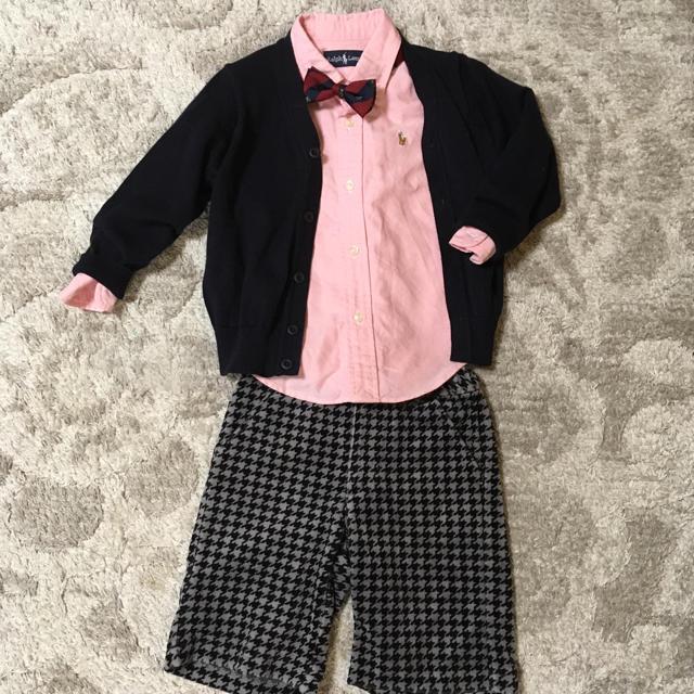 POLO RALPH LAUREN(ポロラルフローレン)の男の子 フォーマルコーデ 90〜100 キッズ/ベビー/マタニティのキッズ服 男の子用(90cm~)(ドレス/フォーマル)の商品写真