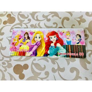 ディズニー(Disney)のディズニープリンセス ♡ 50色 色鉛筆(色鉛筆 )