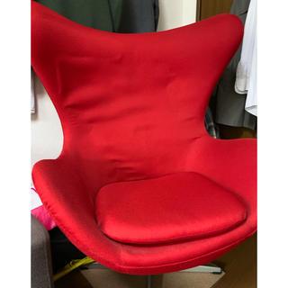 アルネヤコブセン(Arne Jacobsen)のアルネヤコブセン エッグチェア リプロダクト品 チェア 椅子 ソファ (ハイバックチェア)