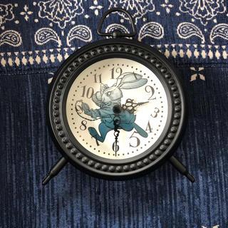 ディズニー(Disney)のthrough the looking glass desk clock (置時計)