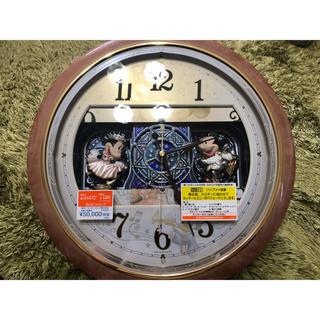ディズニー(Disney)の【未使用・新品】【Disney】からくり掛け時計(掛時計/柱時計)