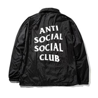 シュプリーム(Supreme)のanti social social club アンチソーシャル(ナイロンジャケット)