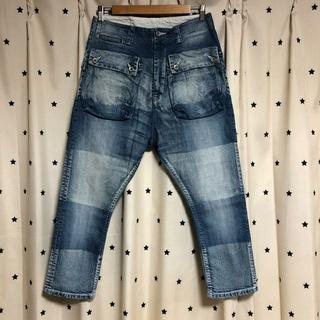 ネイタルデザイン(NATAL DESIGN)のNATAL DESIGN×GO OUT G55 Flap Denim Pants(デニム/ジーンズ)