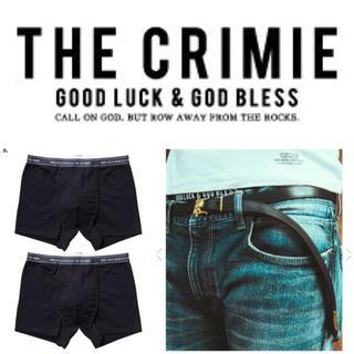 クライミー(CRIMIE)の【未開封】クライミー ボクサーパンツ 2枚(ボクサーパンツ)