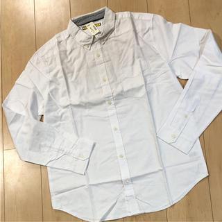 エアロポステール(AEROPOSTALE)の新品 ホワイト 長袖シャツ L エアロポステール 白シャツ(シャツ)