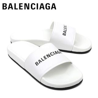 バレンシアガ(Balenciaga)の【5】BALENCIAGA 19SS サンダル シャワーサンダル ホワイト (サンダル)