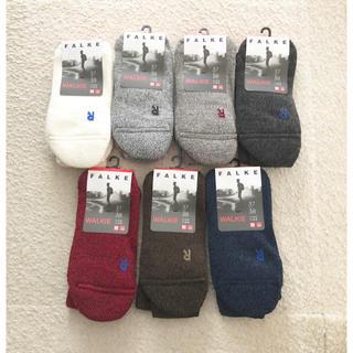 マーガレットハウエル(MARGARET HOWELL)の新品 FALKE WALKIE ファルケ 靴下 37-38 Bshop(ソックス)