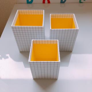 イケア(IKEA)のIKEA イケア ♡ ペン立て 3個セット 収納 デスク(ケース/ボックス)