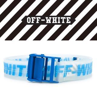 オフホワイト(OFF-WHITE)の【5】OFF-WHITE Rubber Industrial Belt 男女兼用(ベルト)