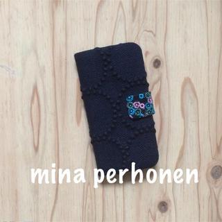 ミナペルホネン(mina perhonen)の【35】タンバリン/choucho♡ミナペルホネンiPhone7.8手帳型ケース(iPhoneケース)