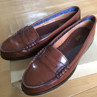 ジーエイチバス(G.H.BASS)の値下げG.H.BASS ローファー  レディース  アメリカ製(ローファー/革靴)