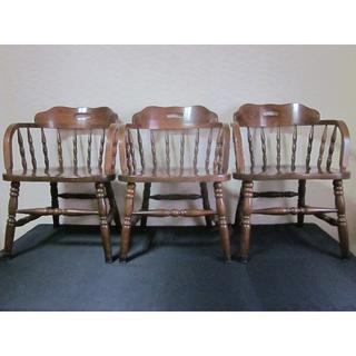カリモクカグ(カリモク家具)のfuyiqian様専用 椅子3脚(ダイニングチェア)
