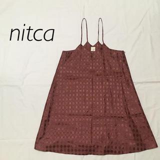 ニトカ(nitca)のnitca ニトカ キャミソールワンピース キャミワンピ(キャミソール)