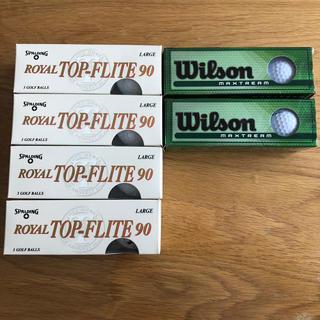 ウィルソン(wilson)のゴルフボール 18球(その他)