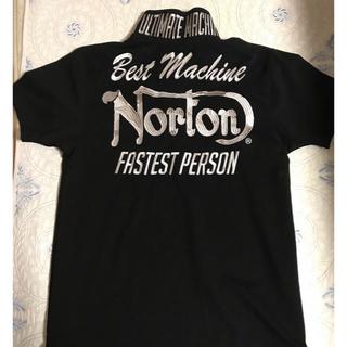 ノートン(Norton)のNorTon黒 ポロシャツ(ポロシャツ)