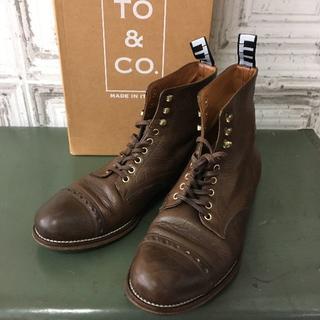 トゥーアンドコー(TO&CO.)のイタリア製 TO&CO. トゥーアンドコー ブーツ USED(ブーツ)