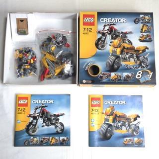 レゴ(Lego)のレゴ クリエイター モーターバイク 8IN1 LEGO 4893(その他)