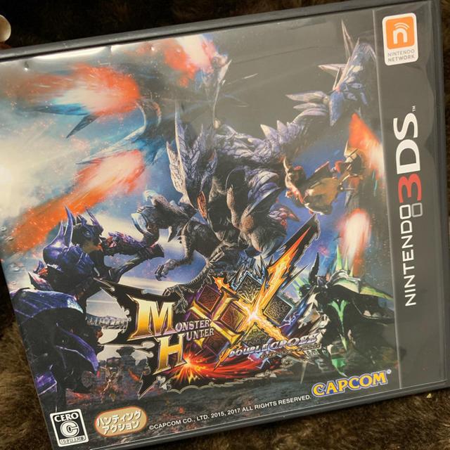 ニンテンドー3DS(ニンテンドー3DS)のモンスターハンターダブルクロス エンタメ/ホビーのゲームソフト/ゲーム機本体(携帯用ゲームソフト)の商品写真