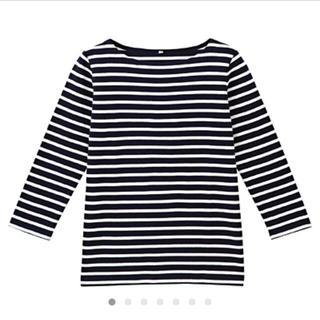 ムジルシリョウヒン(MUJI (無印良品))の無印良品 ボーダーTシャツ(Tシャツ(長袖/七分))