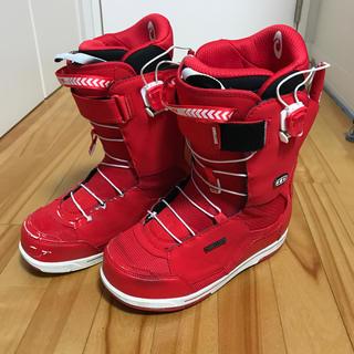ディーラックス(DEELUXE)の26.5cm Deeluxe ID 6.1 TF Red 赤(ブーツ)