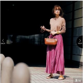 ドゥロワー(Drawer)のはるやん様☆ enrica エンリカ コットンシルクギャザースカート(ロングスカート)