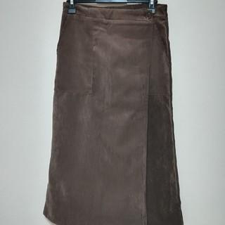 ダブルネーム(DOUBLE NAME)のコーデュロイスカート(ひざ丈スカート)