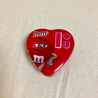 エムアンドエム(M&M)のM&M's バレンタイン限定 缶ケース チョコレート(菓子/デザート)