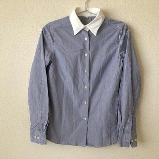 ムジルシリョウヒン(MUJI (無印良品))の無印良品 ストライプシャツ S(シャツ/ブラウス(長袖/七分))