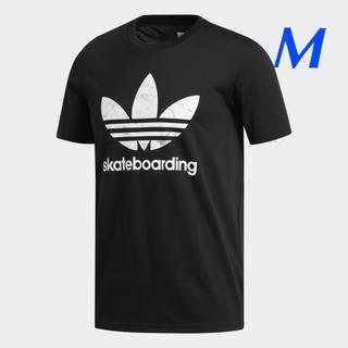 アディダス(adidas)の【メンズM】黒/マーブル   SB  Tシャツ(Tシャツ/カットソー(半袖/袖なし))