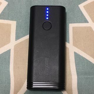 バッファロー(Buffalo)のBuffalo モバイルバッテリー 5200mAh(バッテリー/充電器)