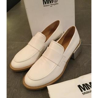 マルタンマルジェラ(Maison Martin Margiela)の定価約10万→37999早い者勝ち‼️新品正規品 マルタンマルジェラ MM6(ローファー/革靴)