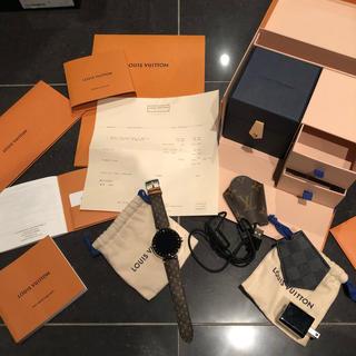 ルイヴィトン(LOUIS VUITTON)のLouis Vuitton タンブール ホライゾン 付属品完備(腕時計(デジタル))