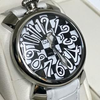 new product 5f34d 3858b ガガミラノ 腕時計 美品 チェック文字盤 リミテッドエディション