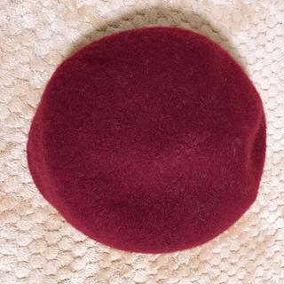 ジーユー(GU)の赤いベレー帽(GU)(帽子)