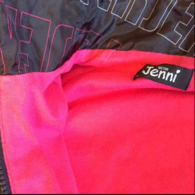 JENNI(ジェニィ)のSISTER Jenni 裏付ナイロンジャンパー キッズ/ベビー/マタニティのキッズ服 女の子用(90cm~)(ジャケット/上着)の商品写真