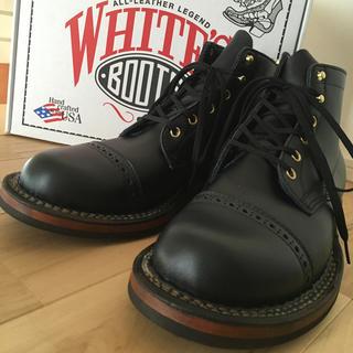ウエスコ(Wesco)の新品 未使用 箱付 ホワイツ セミドレス カスタム US7.5E ブーツ(ブーツ)