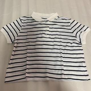 ウィゴー(WEGO)のWEGO ミニボーダーポロシャツ(ポロシャツ)