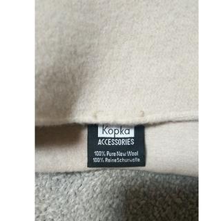 ネストローブ(nest Robe)の【美品】kopkaコプカ ベレー帽(ハンチング/ベレー帽)