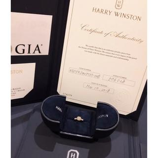 ハリーウィンストン(HARRY WINSTON)のはな様専用  HARRY WINSTON  ラウンドトリストリング(リング(指輪))