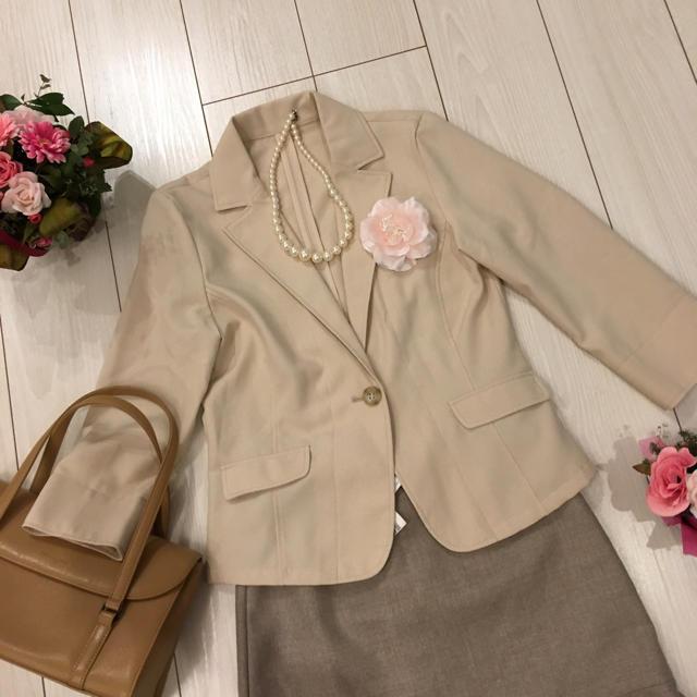 NATURAL BEAUTY BASIC(ナチュラルビューティーベーシック)のフォーマルスーツ セット レディースのフォーマル/ドレス(スーツ)の商品写真