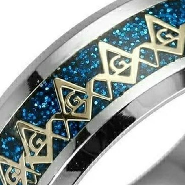 ♠フリーメイソン リング⭐400円アクセ❗ メンズのアクセサリー(リング(指輪))の商品写真