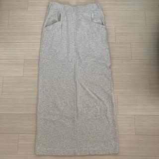 エックスガール(X-girl)のXGIRL スウェットスカート(ロングスカート)