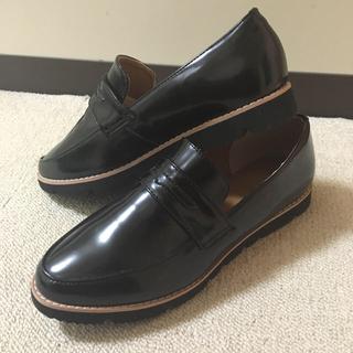 シマムラ(しまむら)のしまむら 黒 ローファー(ローファー/革靴)