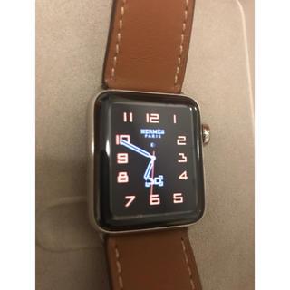 アップルウォッチ(Apple Watch)の正規品! Apple Watch series3 エルメス アップルウォッチ(スマートフォン本体)