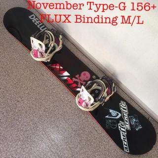 ノーベンバー(NOVEMBER)のスノーボード November Type-G 156(ボード)