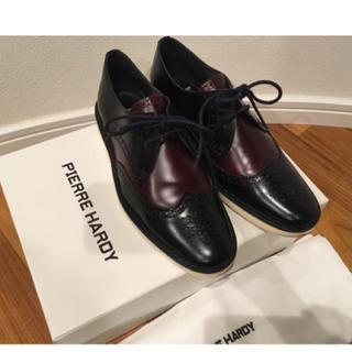 ピエールアルディ(PIERRE HARDY)のピエールアルディ  ウィングチップ 革靴 ブラウン/ブラックコンビカラー (ローファー/革靴)