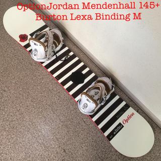バートン(BURTON)のスノーボードOptionJordan Mendenhall 145(ボード)