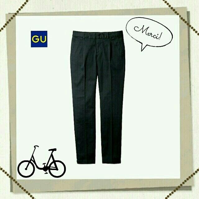 GU(ジーユー)のg.u.♥テーパードチノパン レディースのパンツ(チノパン)の商品写真