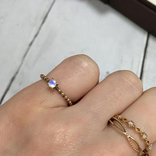 ノジェス(NOJESS)のk10 ノジェス ブルームーンストーンリング(リング(指輪))